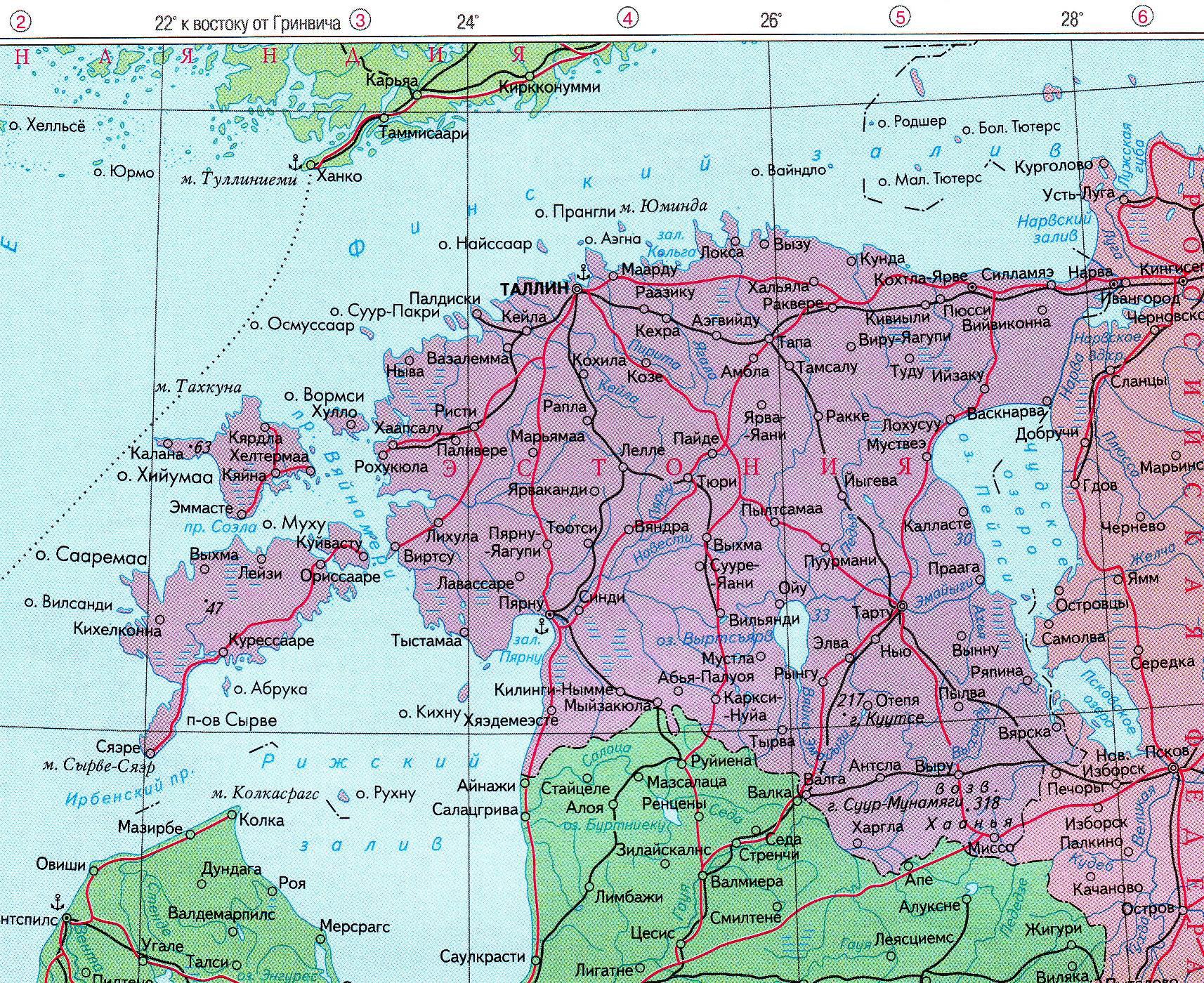 Карта УстьКаменогорска с улицами онлайн Номера домов