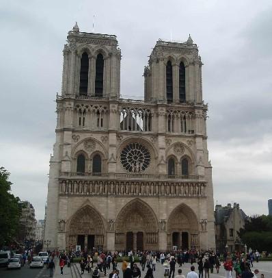 Франция. Париж. Собор Парижской Богоматери