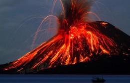 Индонезия. Вулкан Кракатау