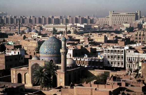 Столица Ирака - город Багдад