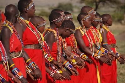 Кения. Масаи
