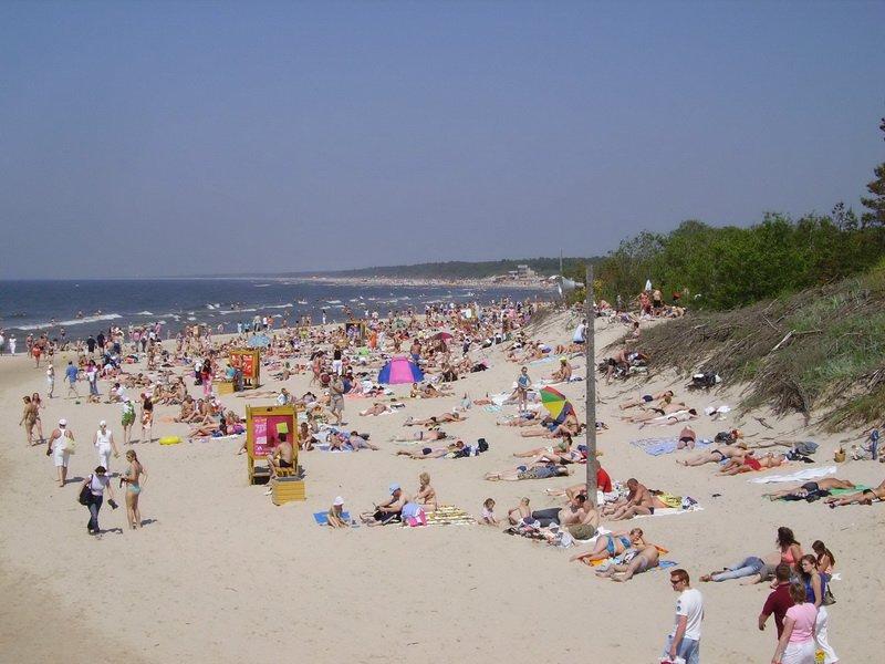 Пляж на Куршской косе. Литва